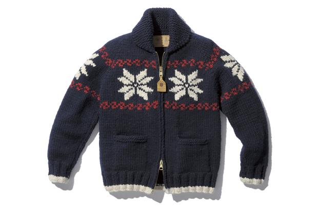 """SOPHNET. x Canadian Sweater Company """"COWICHAN"""" Knitwear"""