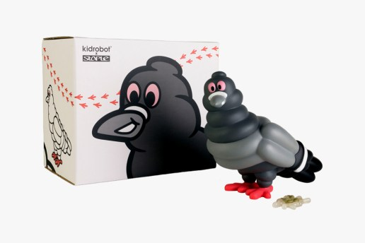 Staple Design x Kidrobot Staple Tire Pigeon
