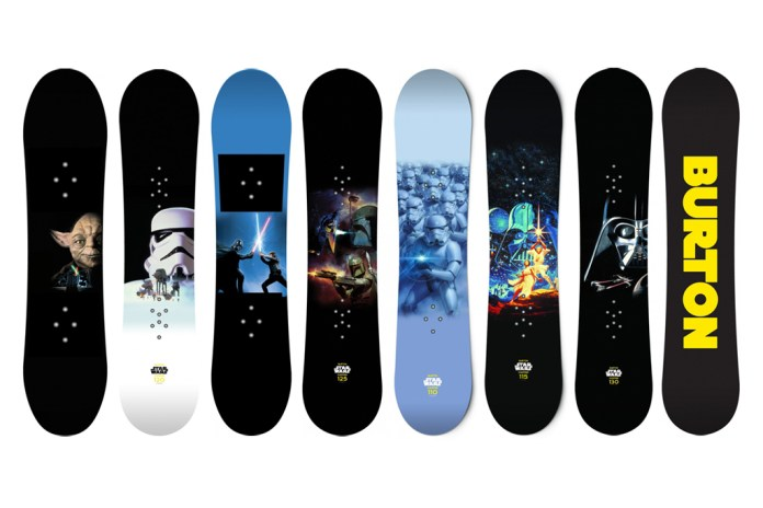 Star Wars x Burton Snowboards Preview