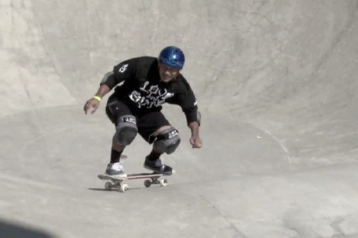 Steve Cabellero Skates at the Tim Brauch Memorial 2011