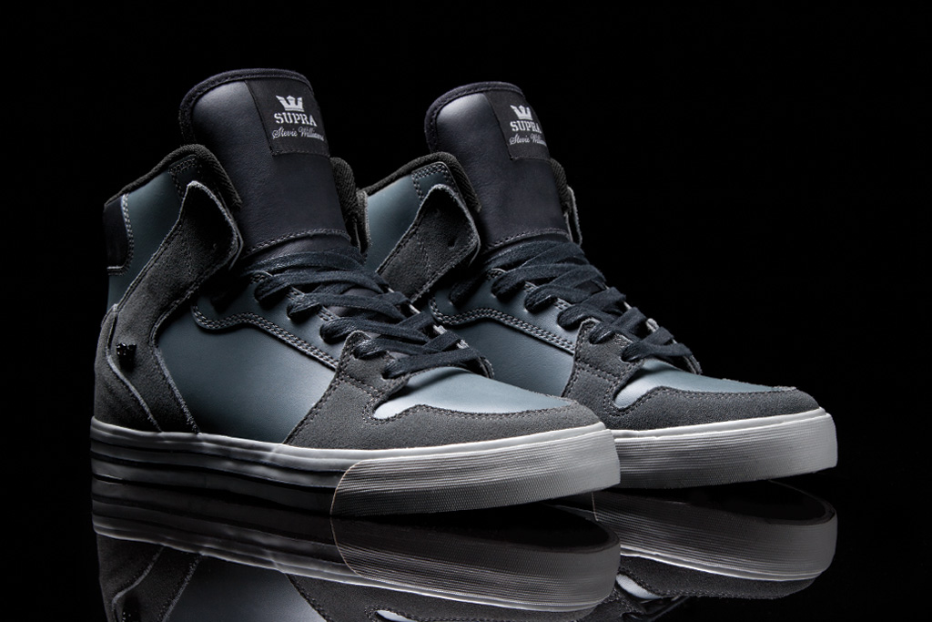 checked stevie williams x supra vaider collection