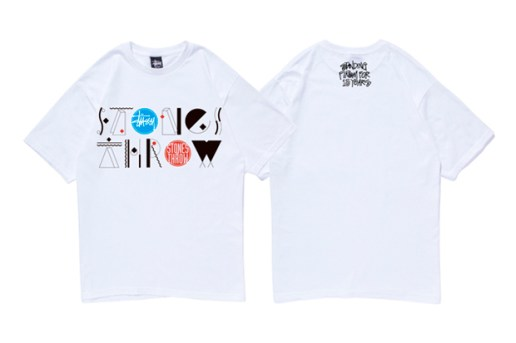 Stones Throw x Stussy 15th Anniversary T-Shirt