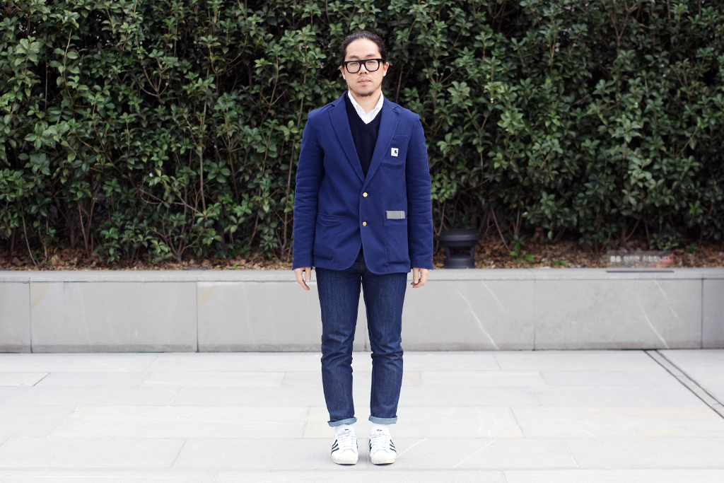 streetsnaps shades of blue