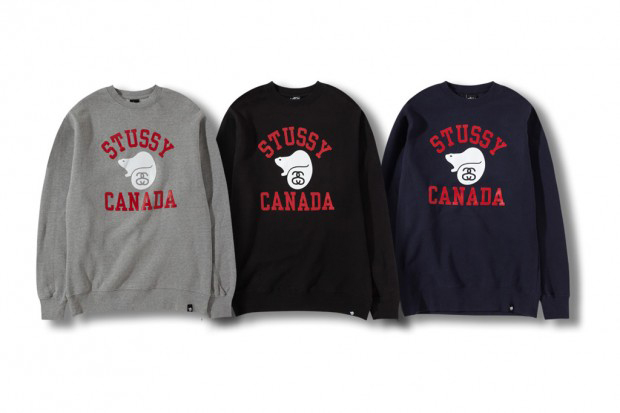 "Stussy Canada ""Running the North"" Fleece Collection"