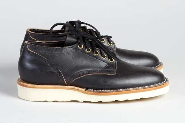 Superdenim x Viberg 145 Oxford Black Chromexcel