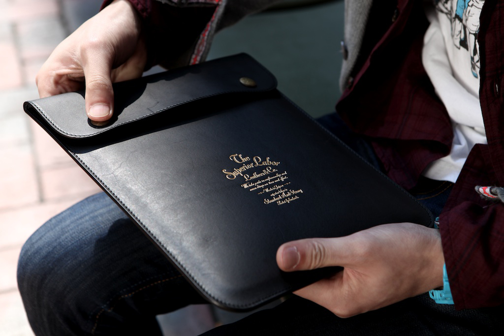 Superior Labor Leather iPad Case