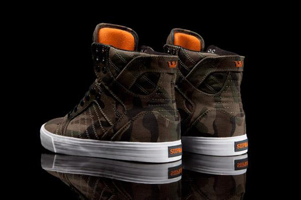 SUPRA Skytop Halloween Camo Preview