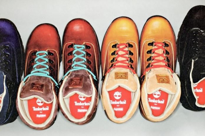 Supreme x Timberland Euro Hiker Boots