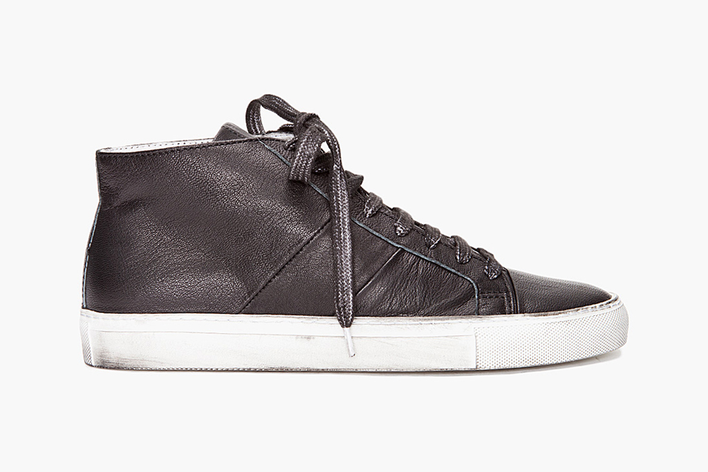 Surface to Air Overdyed Mid Top Sneakers