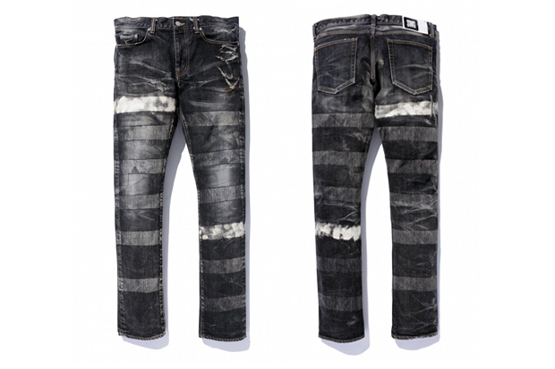 SWAGGER BREACH ON BREACH DENIM PANTS