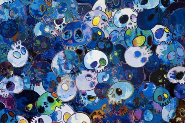 "Takashi Murakami ""Homage to Yves Klein"" @ Galerie Emmanuel Perrotin Preview"
