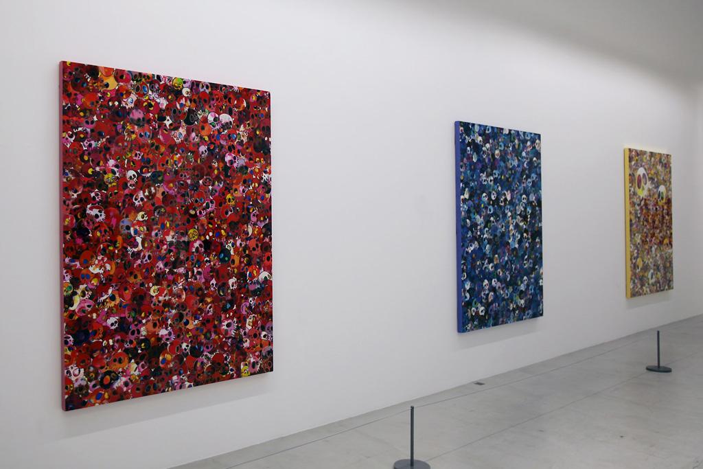 """Takashi Murakami """"Homage to Yves Klein"""" @ Galerie Emmanuel Perrotin Recap"""