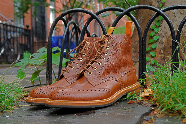 The Brooklyn Circus x Tricker's 2011 Winter Brogue Boots
