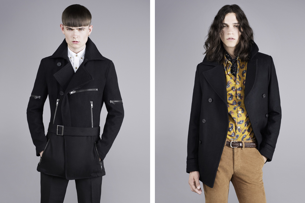 topman classics projects the peacoat