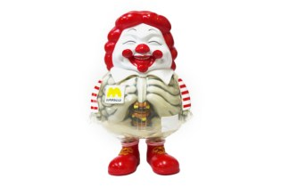 Toy Tokyo x Secret Base x Ron English McSupersized HUMBERGER X-Ray Version