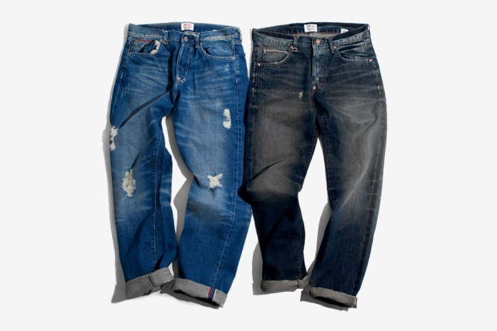 Twelve Bar Cerrone Indigo Vintage and Newman Old School Selvage Denim