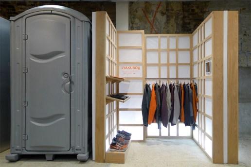 UNDERCOVER x Nike GYAKUSOU Installation @ Dover Street Market