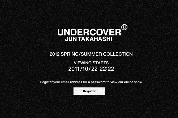 UNDERCOVER Official Website Launch