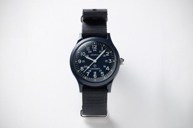 uniform experiment x Benrus Military Watch - SOPH.HANKYU MEN'S TOKYO Exclusive