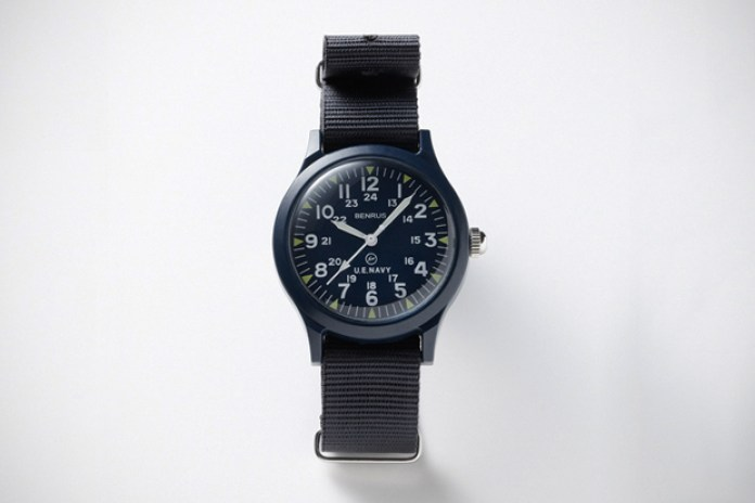uniform experiment x Benrus Military Watch - SOPH.HANKYU MEN'S TOKYO Exclusive