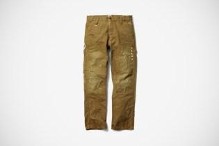 uniform experiment x Carhartt DAMAGED DOUBLE FRONT LOGGER PANT