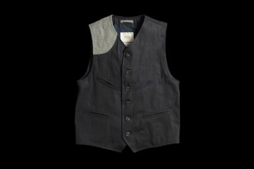 UNIONMADE Indigo Golden Bear Vest