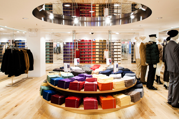 Uniqlo Fifth Avenue Store Opening NYC