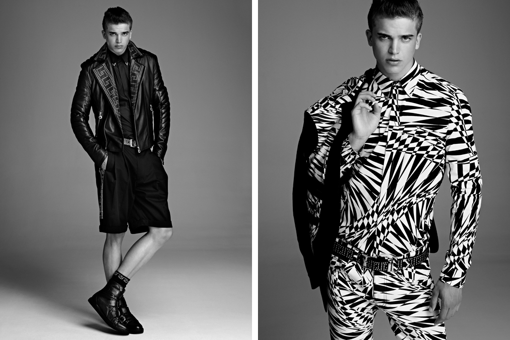 Versace for H&M Men's 2011 Fall/Winter Collection Lookbook