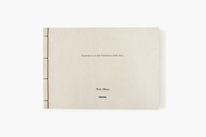 visvim 10th Anniversary Book 'Dissertation on Self-Verification 2001-2011'