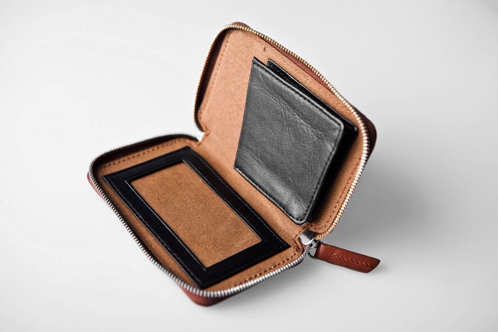 WANT Les Essentiels de la Vie 2011 Holiday Bi-Fold Zip Wallet & Card Holder