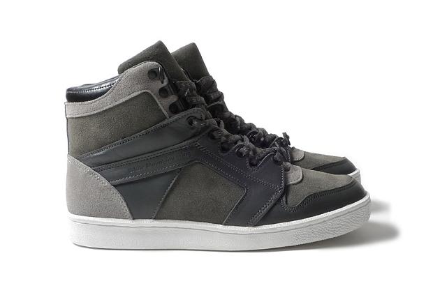 White Mountaineering Hi-Cut Sneaker Shipton Grey