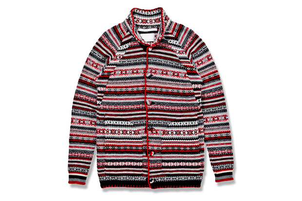 White Mountaineering Jacquard Nordic Knit