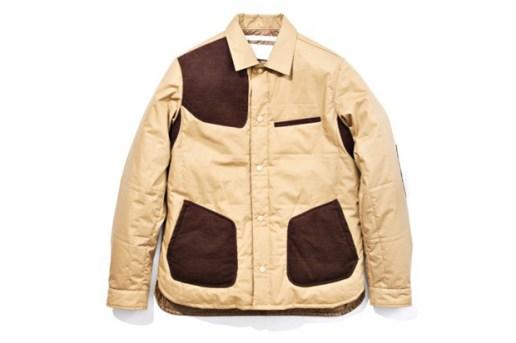 White Mountaineering Supima Silicon Coating Insulated Shirt