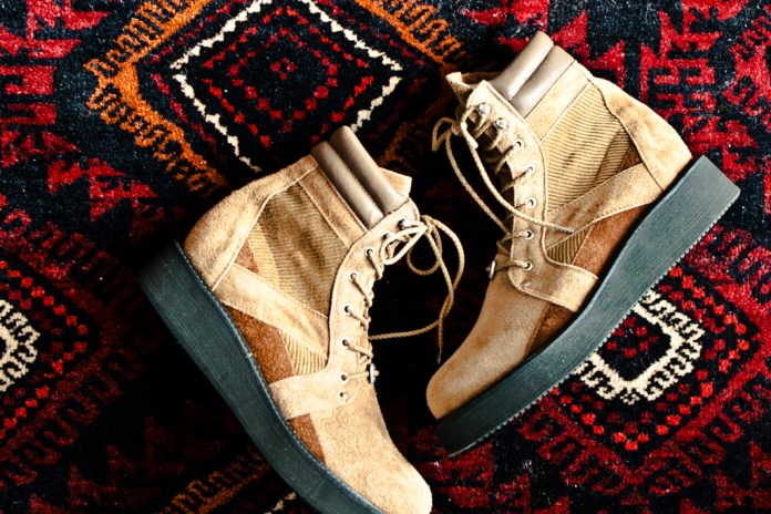 White Mountaineering Thick Sole Boots