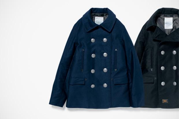 WTAPS Blackwatch Pea Coat