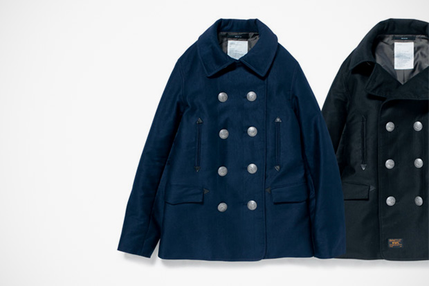 WTAPS Blackwatch Pea Coat