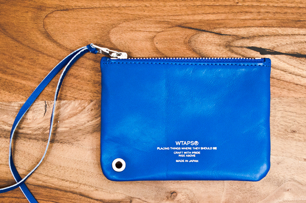 WTAPS Leather Pouch