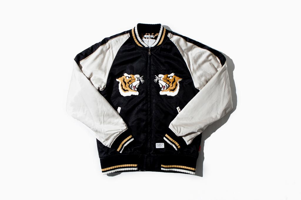 wtaps locals jacket raco satin