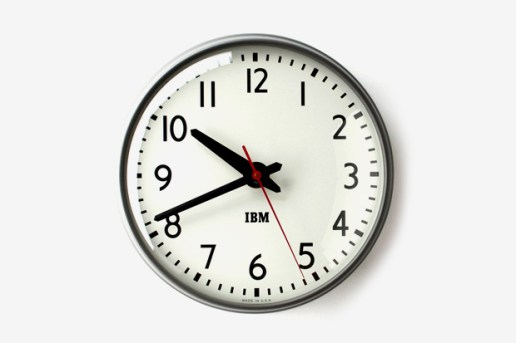1960s IBM Standard Issue Clock