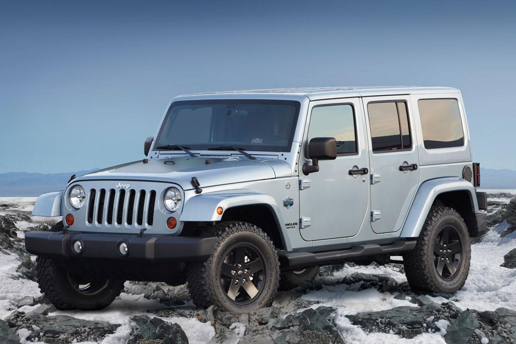 2012 Jeep Wrangler & Liberty Arctic Editions