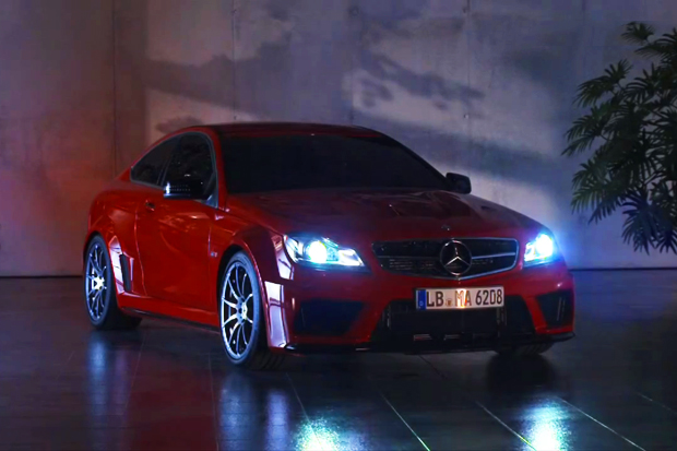 2012 Mercedes-Benz C63 AMG Coupe Black Series Commercial