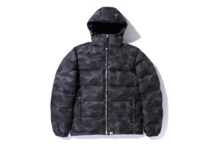 A Bathing Ape COLOR CAMO Down Jacket