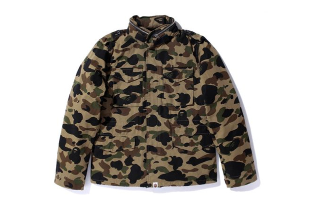 A Bathing Ape M65 JACKET