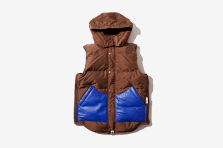 A Bathing Ape PERTEX DOWN VEST