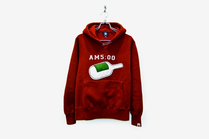 A Bathing Ape SAFETY PIN STONE WASH PULLOVER