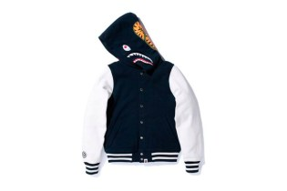 A Bathing Ape SHARK VARSITY TYPE HOODIE