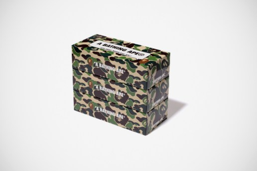 A Bathing Ape SPECIAL NOVELTY ABC CAMO 3PACKS BOX TISSUE