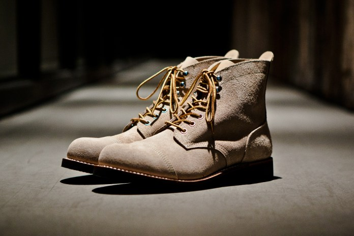 A Bathing Ape Suede Cap Toe Boots