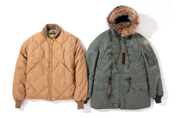A Bathing Ape x Toys McCoy 2011 Holiday Jackets