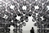 """Ai Wei Wei """"Forever Bicycles"""" Installation"""